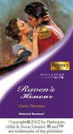 Raven's Honor UK Cover